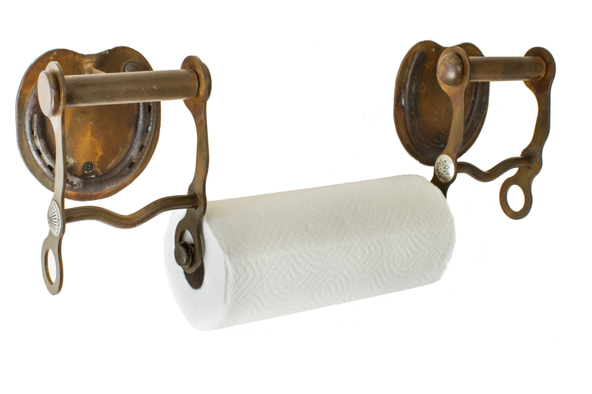 Mountain And Western Themed Rustic Paper Towel Holder Functional Home Decor